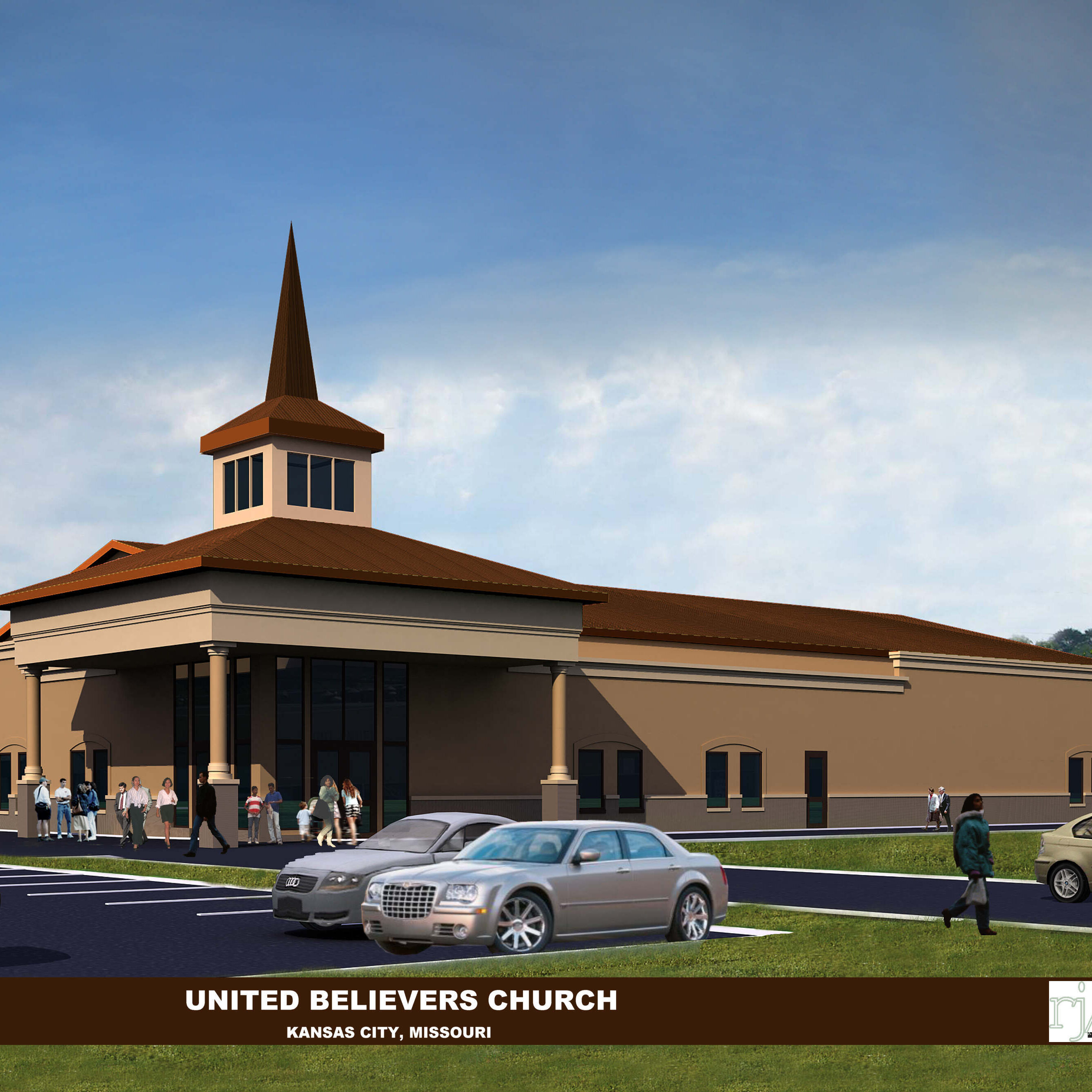UNITED BELIEVERS COMMUNITY CHURCH (NEW FACILITY -- CHURCH RENDERING)